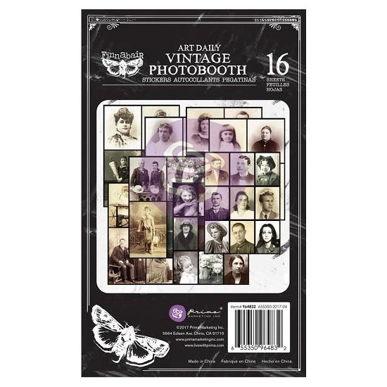 "Finnabair - Art Daily - Sticker Pad 4.5""X7.5"" - Photobooth"