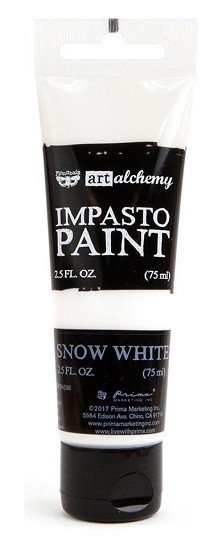 Prima Marketing - Art Alchemy - Impasto Paint - Snow White