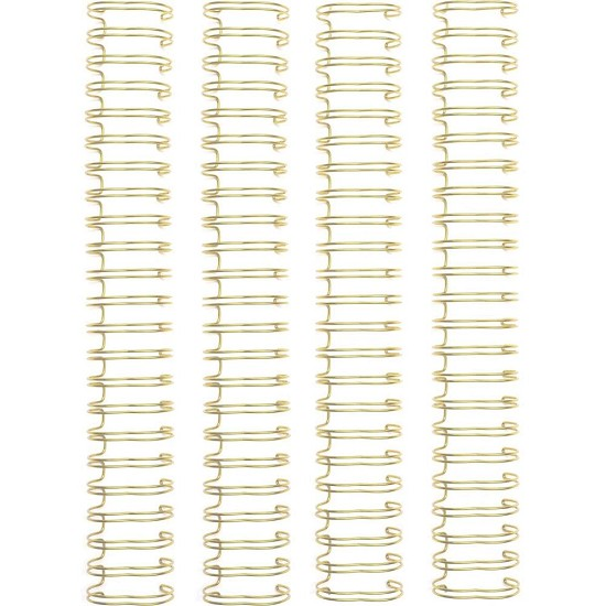 "We R Memory Keepers - Cinch Wires 1"" 4/Pkg - Gold"