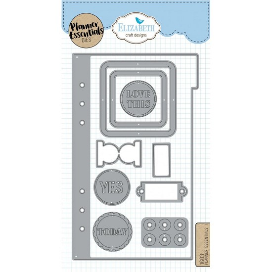 Elizabeth Craft Designs - Planner Essential Dies 1