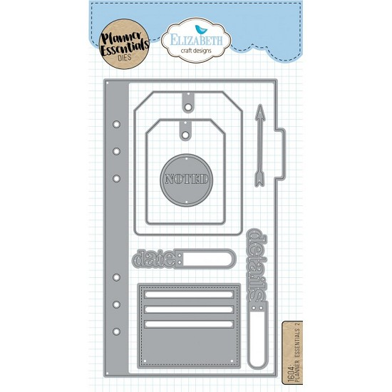 Elizabeth Craft Designs - Planner Essential Dies 2