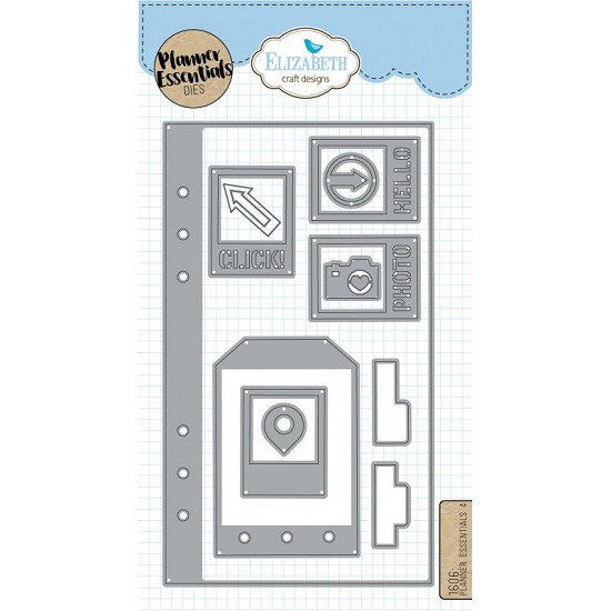 Elizabeth Craft Designs - Planner Essential Dies 4