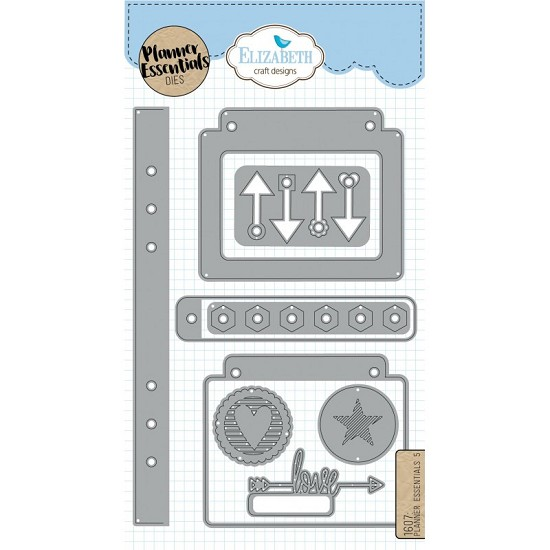 Elizabeth Craft Designs - Planner Essential Dies 5