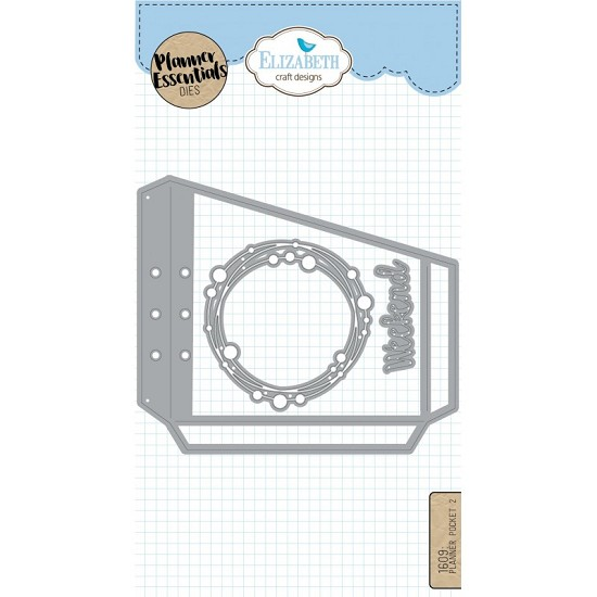 Elizabeth Craft Designs - Planner Pocket Dies 2