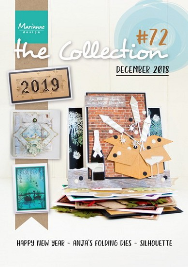 Marianne Design - Tijdschrift The Collection #72