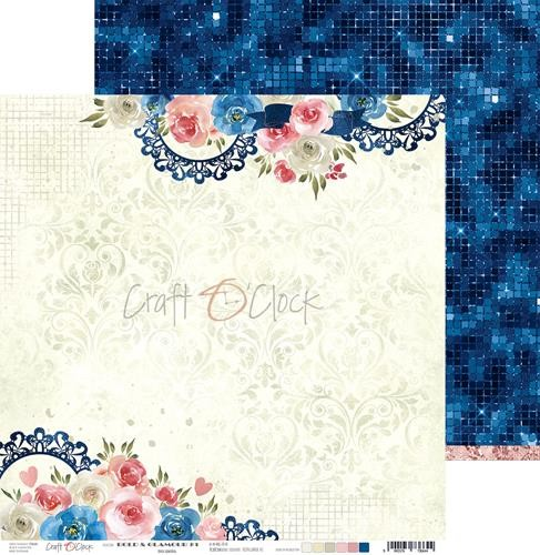 Scrappapier Craft-O-Clock - Bold And Glamour - 01