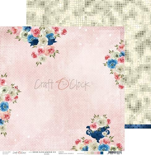 Scrappapier Craft-O-Clock - Bold And Glamour - 03