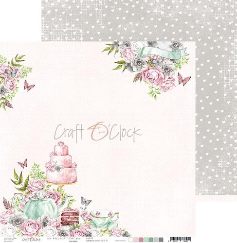 Scrappapier Craft-O-Clock - Felici`tea - 03