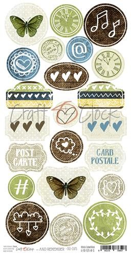Craft-O-Clock - Die-cuts - And Remember