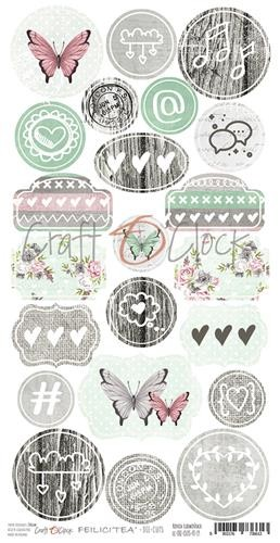 Craft-O-Clock - Die-cuts - Felici`tea