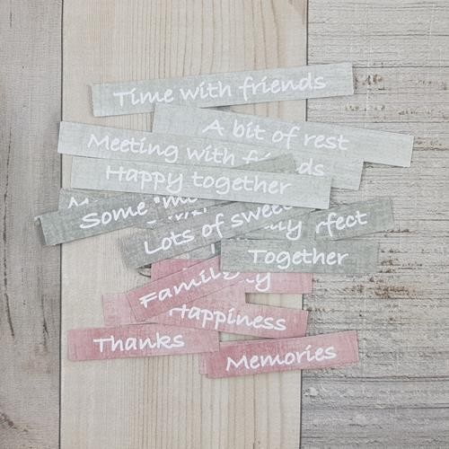 Craft-O-Clock - Die-cuts - Quotes Felici`tea