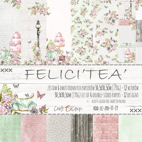 "Craft-O-Clock - Collection Kit 12"" x 12"" - Felici`tea"