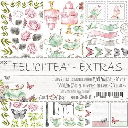 Craft-O-Clock - Paper Collection EXTRA set - Felici`tea