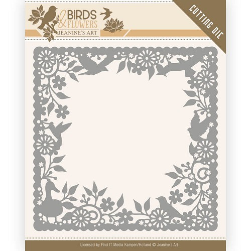 Dies - Jeanine`s Art - Birds and Flowers - Birds Frame