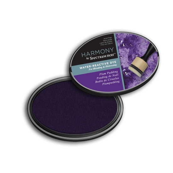 Crafter`s Companion Ink - Harmony Water Reactive Dye Ink - Plum Pudding