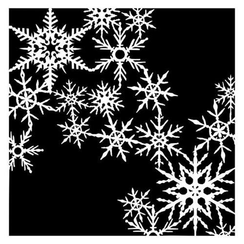 Stencils 13@rts - Christmas Traditions - It`s Snowing by Olga Heldwein