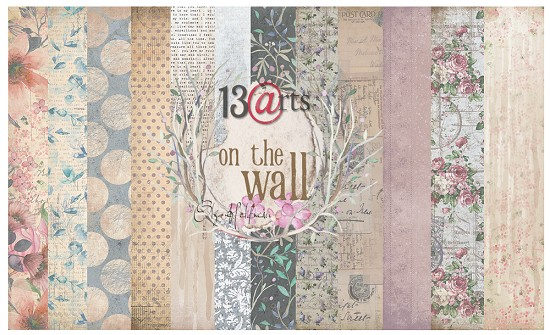 13@rts - Paper Collection Set - On the Wall by Olga Heldwein