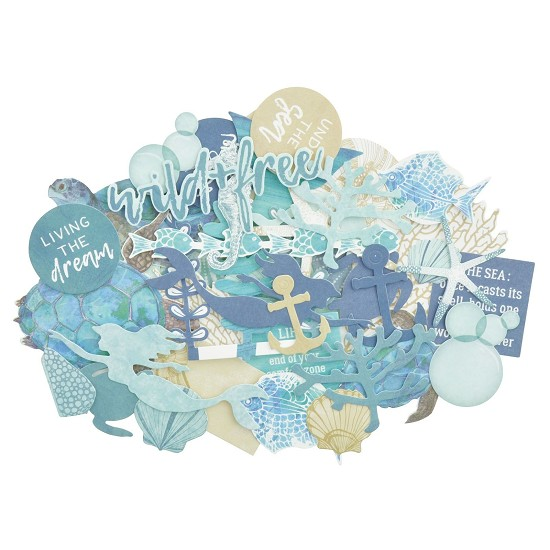 Kaisercraft - Collectables Die-Cuts - Deep Sea