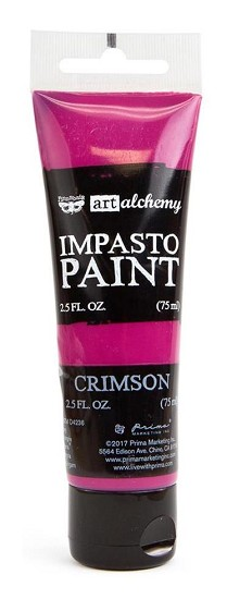Prima Marketing - Art Alchemy - Impasto Paint - Crimson