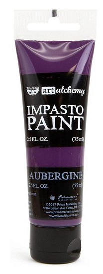 Prima Marketing - Art Alchemy - Impasto Paint - Aubergine