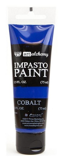 Prima Marketing - Art Alchemy - Impasto Paint - Cobalt