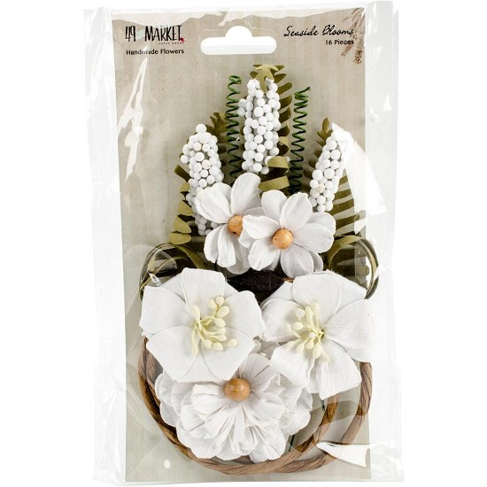 49 and Market - Seaside Blooms - Cotton