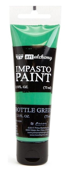 Prima Marketing - Art Alchemy - Impasto Paint - Bottle Green