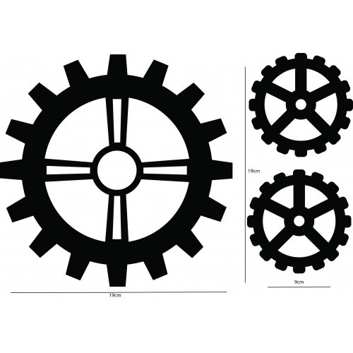 AB Studio - Chipboard - ID-3 (Gears)