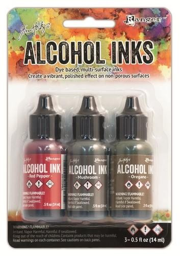 Ranger - Alcohol Ink Kits - Tuscan Garden