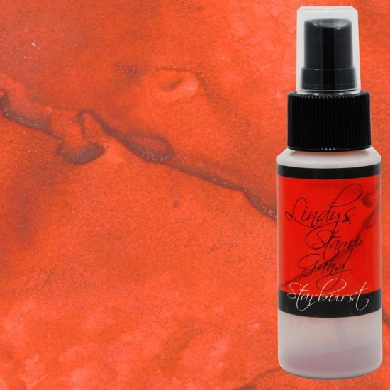 Lindys Stamp Gang - Starburst Spray - Poinciana Red Flame