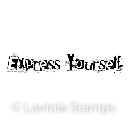 Lavinia Stamps - Express Yourself (text)