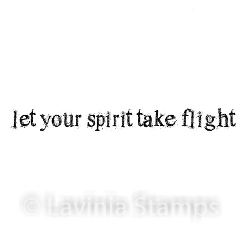 Lavinia Stamps - Let Your Spirit Take Flight (text)