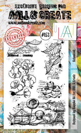 AALL & CREATE - Clearstamp A6 - Set number 153