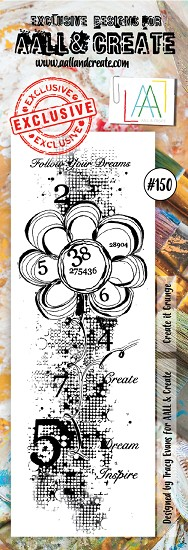 AALL & CREATE - Clearstamp border - Set number 150