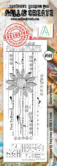 AALL & CREATE - Clearstamp border - Set number 149