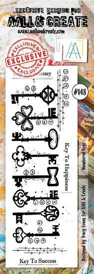AALL & CREATE - Clearstamp border - Set number 148