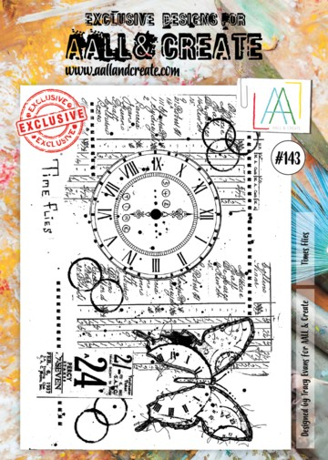 AALL & CREATE - Clearstamp A4 - number 143