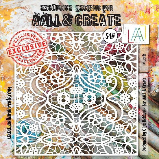 AALL & CREATE - Stencils - set number 54