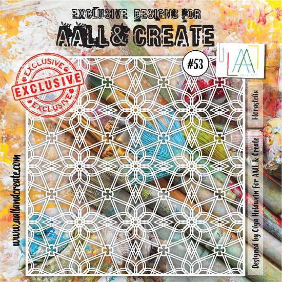 AALL & CREATE - Stencils - set number 53