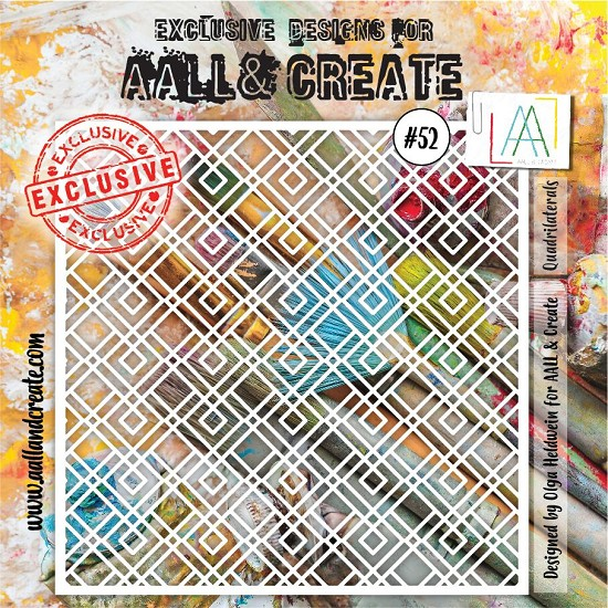 AALL & CREATE - Stencils - set number 52