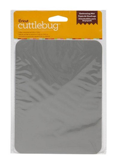 Cricut - Cuttlebug Rubber Embossing Mat