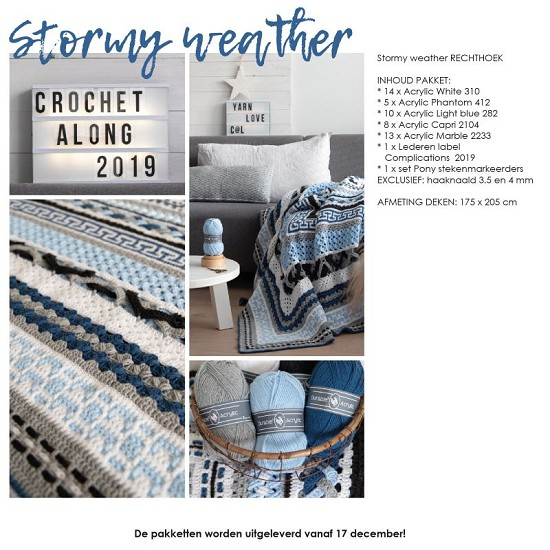 Complications CAL 2019 - Stormy Weather - Rechthoek