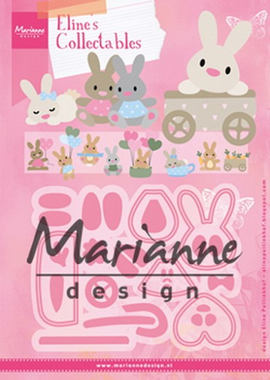 Marianne Design - Collectables - Eline`s Baby Bunny