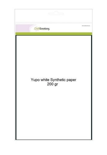 CraftEmotions 0 Synthetisch papier - Yupo wit 10 vl A4 - 200 gr