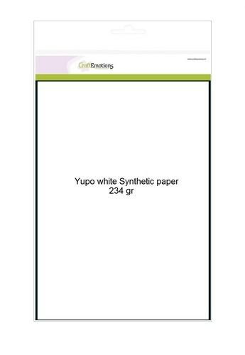 CraftEmotions 0 Synthetisch papier - Yupo wit 10 vl A4 - 234 gr