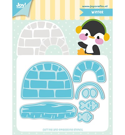Joy Crafts - Jocelijne Design - Tumble Friends - Arctica