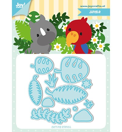 Joy Crafts - Jocelijne Design - Tumble Friends - Jungle
