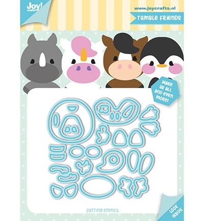 Joy Crafts - Jocelijne Design - Tumble Friends