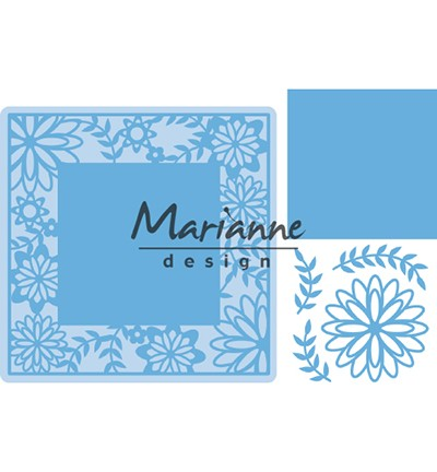 Marianne Design - Creatables - Flower Frame Square