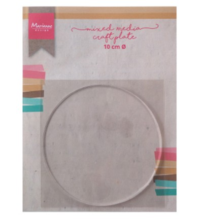 Marianne Design - Mixed Media Craft Plate Circle